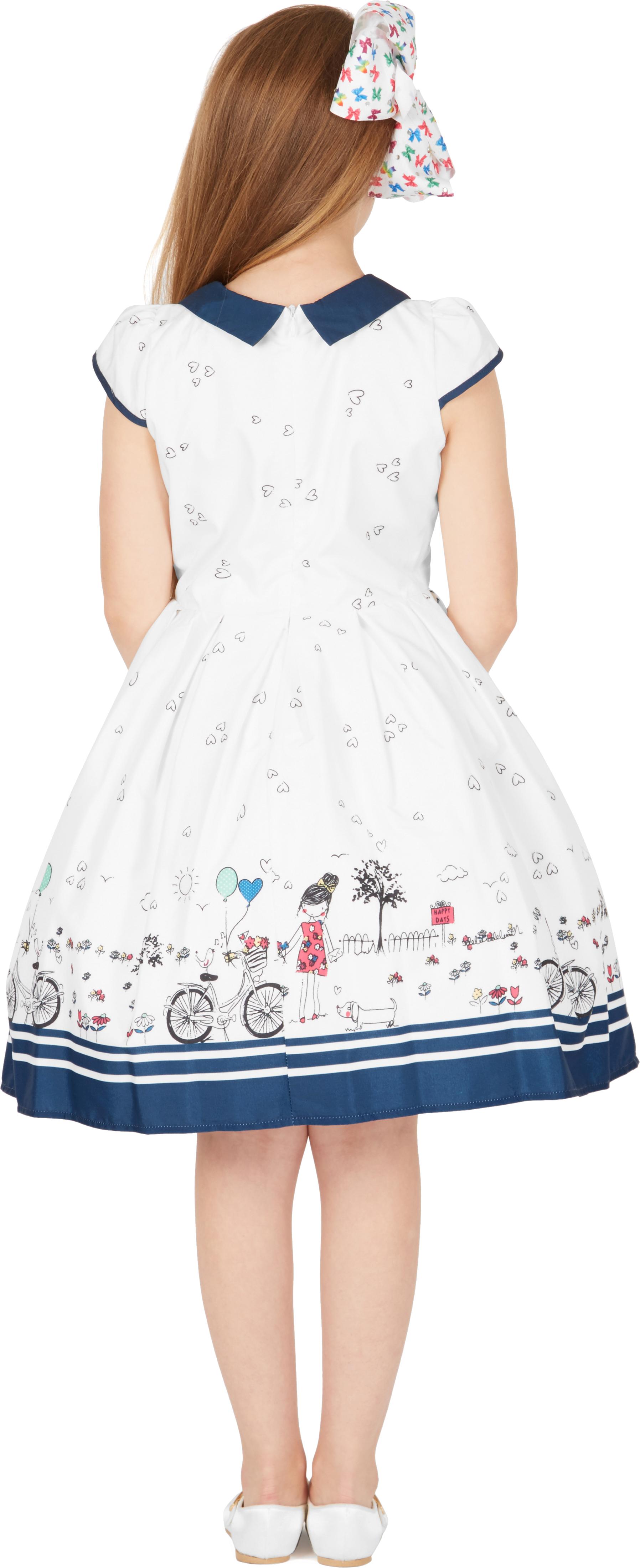 """Blackbutterfly Kids /""""Olivia/"""" VINTAGE Sunshine anni/'50 Party Girls Prom Dress"""