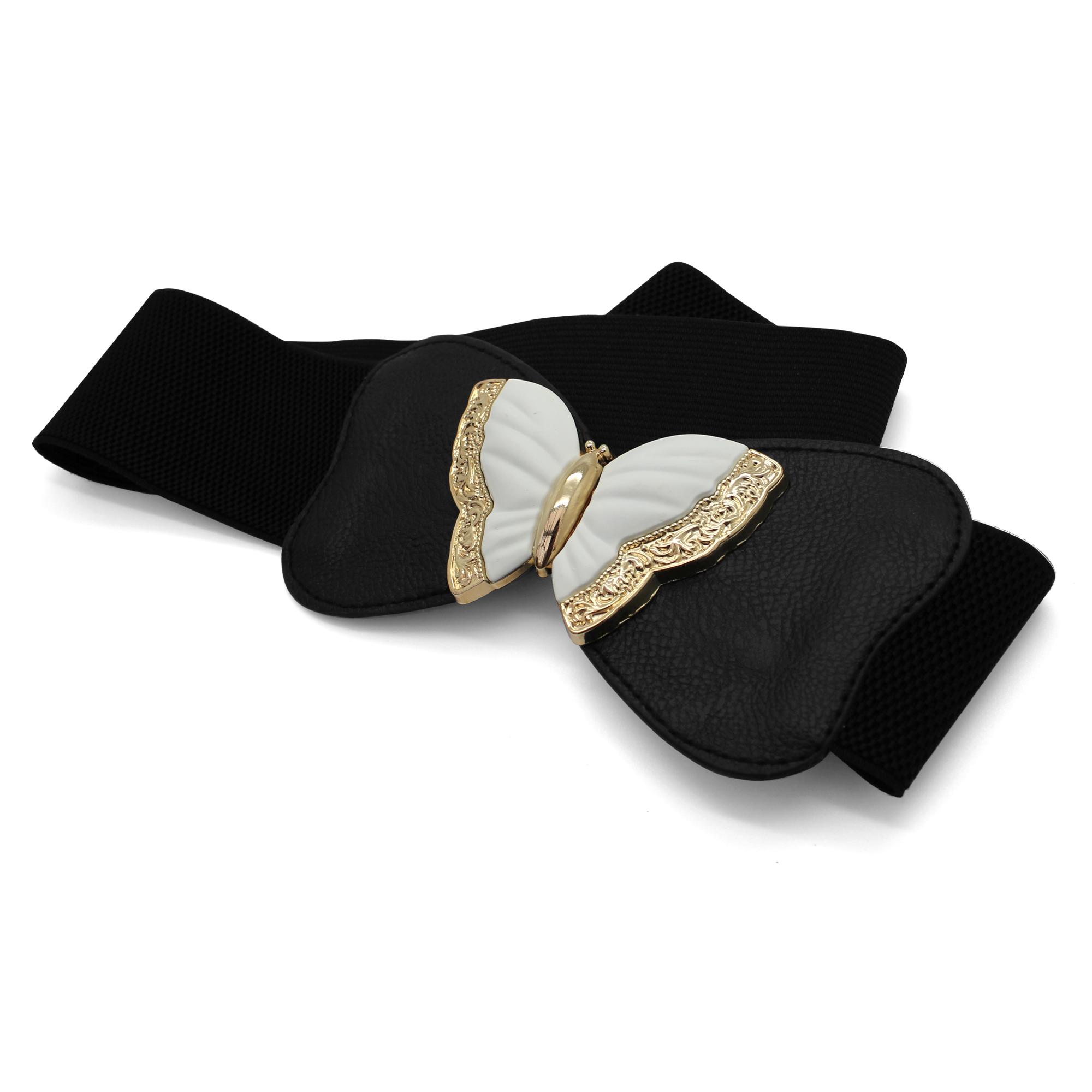 BlackButterfly Stretchy Elastic Butterfly Waist Belt