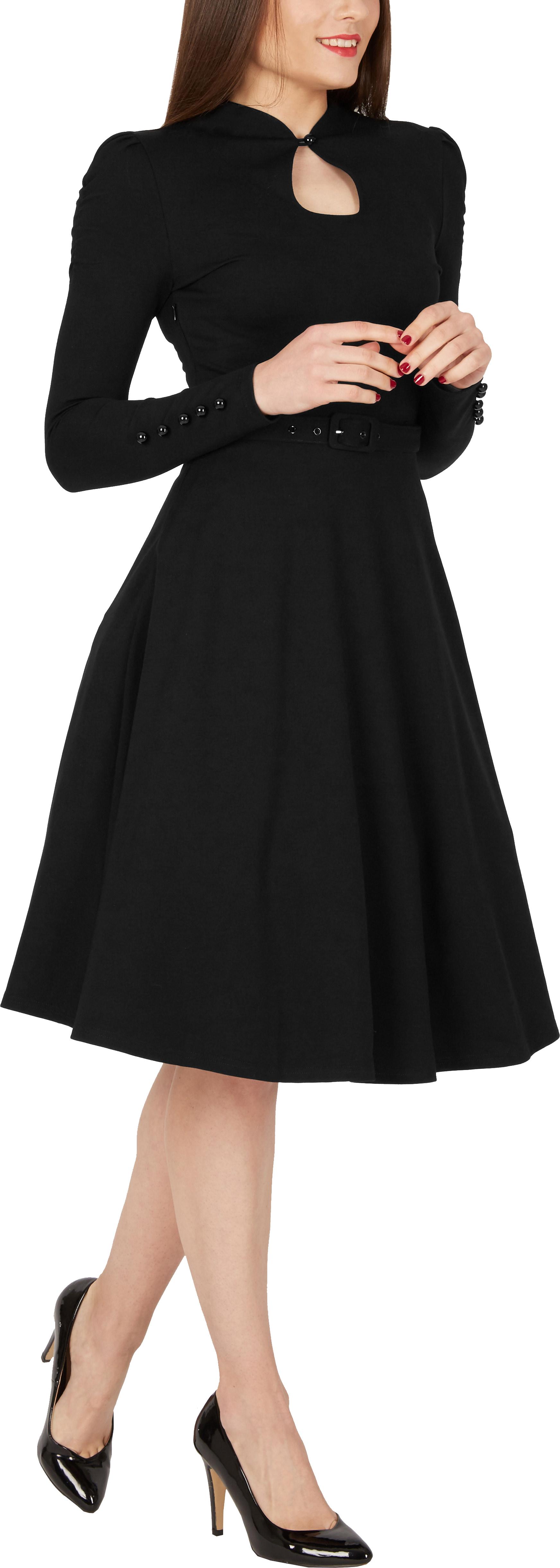 BlackButterfly-039-Megan-039-Vintage-Clarity-50-039-s-Rockabilly-Swing-Prom-Dress