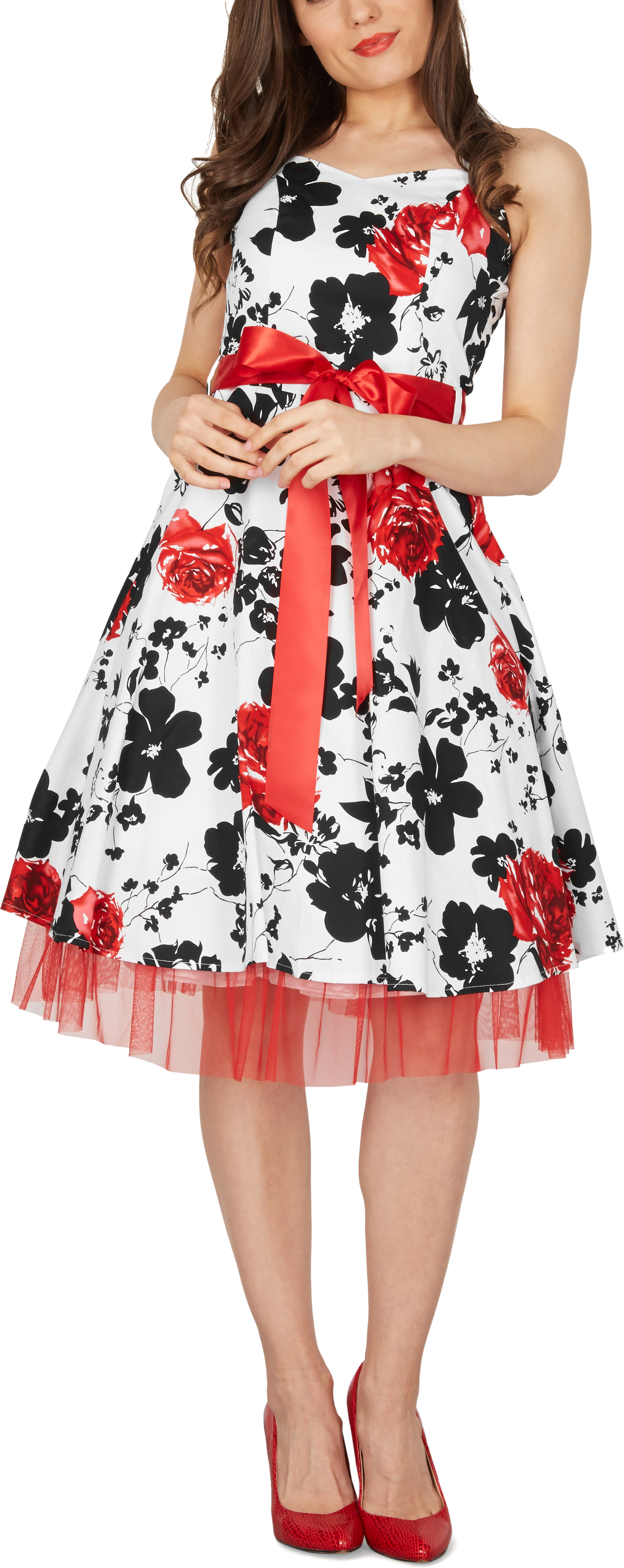 BlackButterfly /'Rhya/' Vintage Serenity 50/'s Rockabilly Bridesmaid Evening Dress
