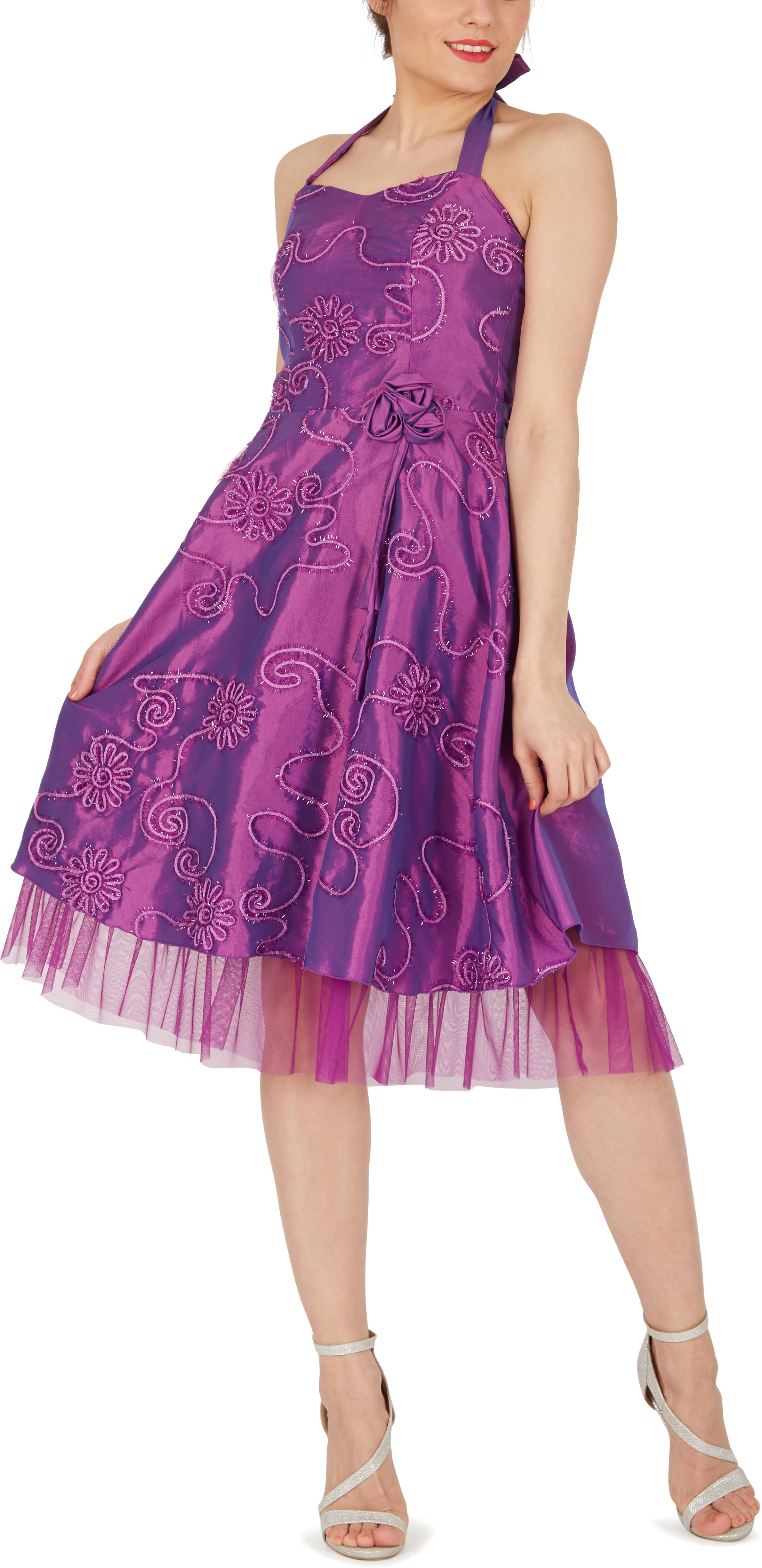Rita\' Floral Cherish Bridesmaid 50s 60s Rockabilly Vintage Swing ...