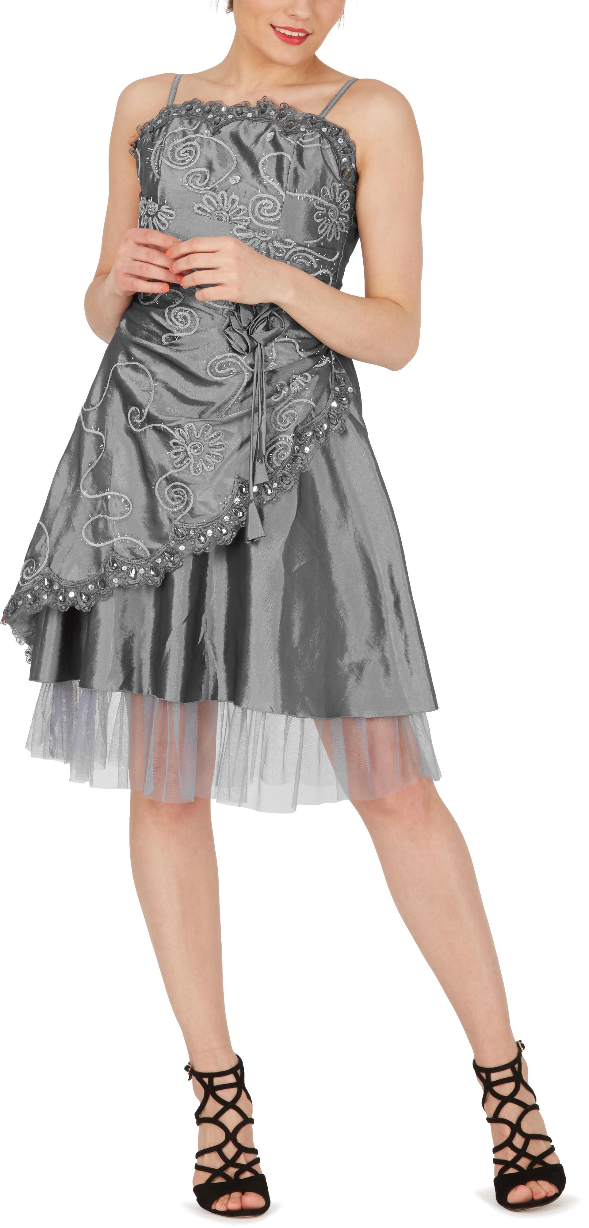 """/""""Opal/"""" RASO CUORE Gioiello Cocktail Sera Party Prom Dress"""