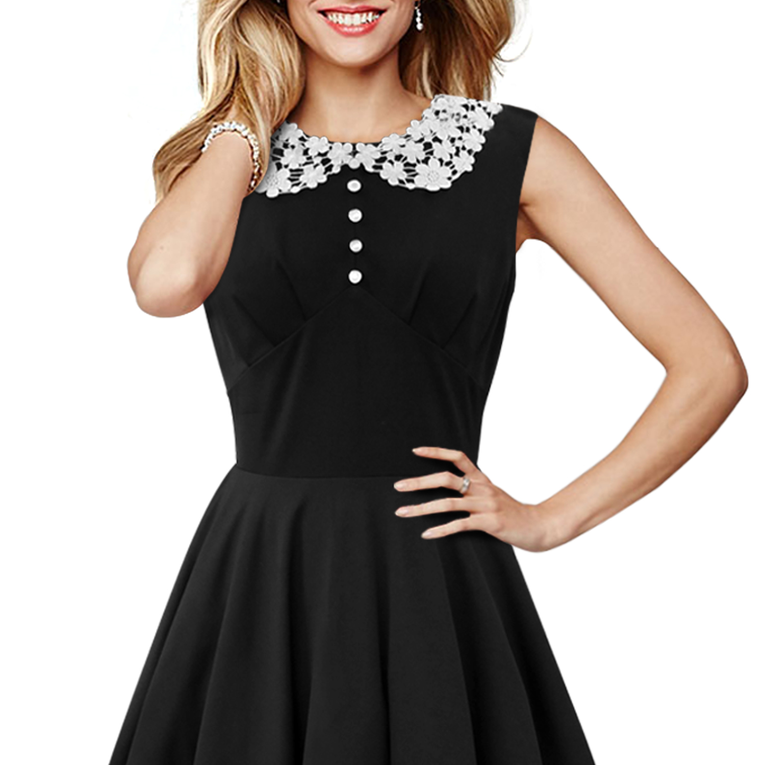 Stunning \'Rosie\' Classic Vintage Clairty Rockabilly 50\'s Pinup Prom ...