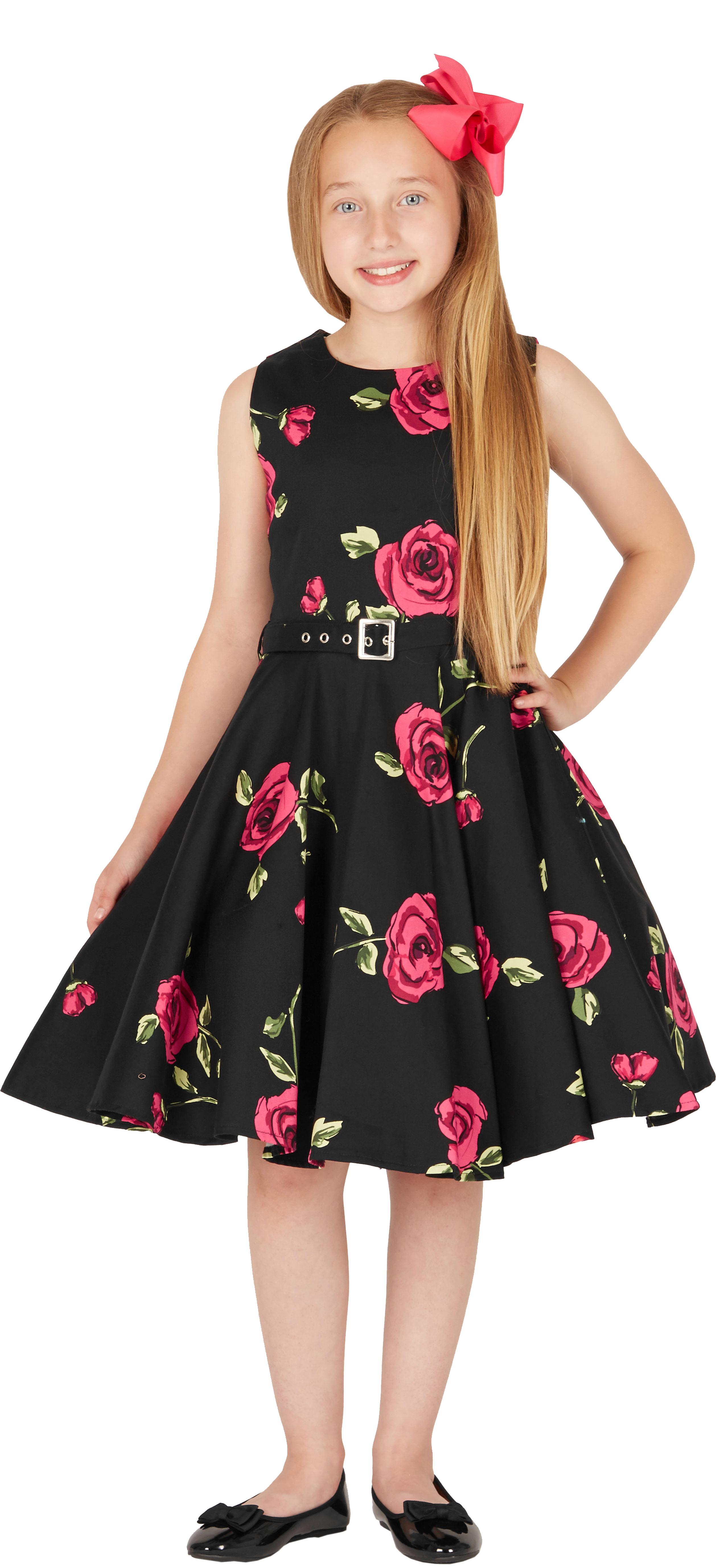 BlackButterfly Kids \'Audrey\' Vintage Infinity 50\'s Floral Party ...