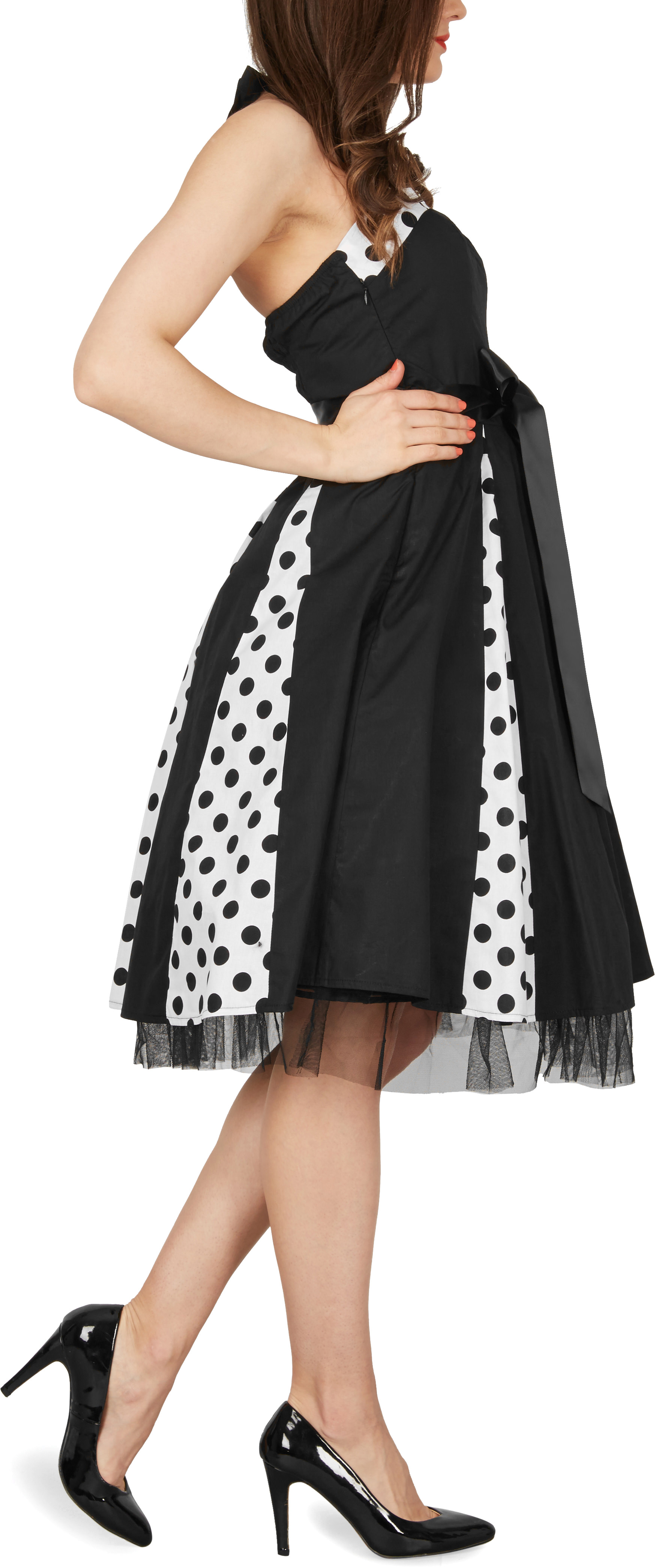blackbutterfly robe swing pois ann es 50 bal mariage rockabilly pin up 39 ivy 39 ebay. Black Bedroom Furniture Sets. Home Design Ideas