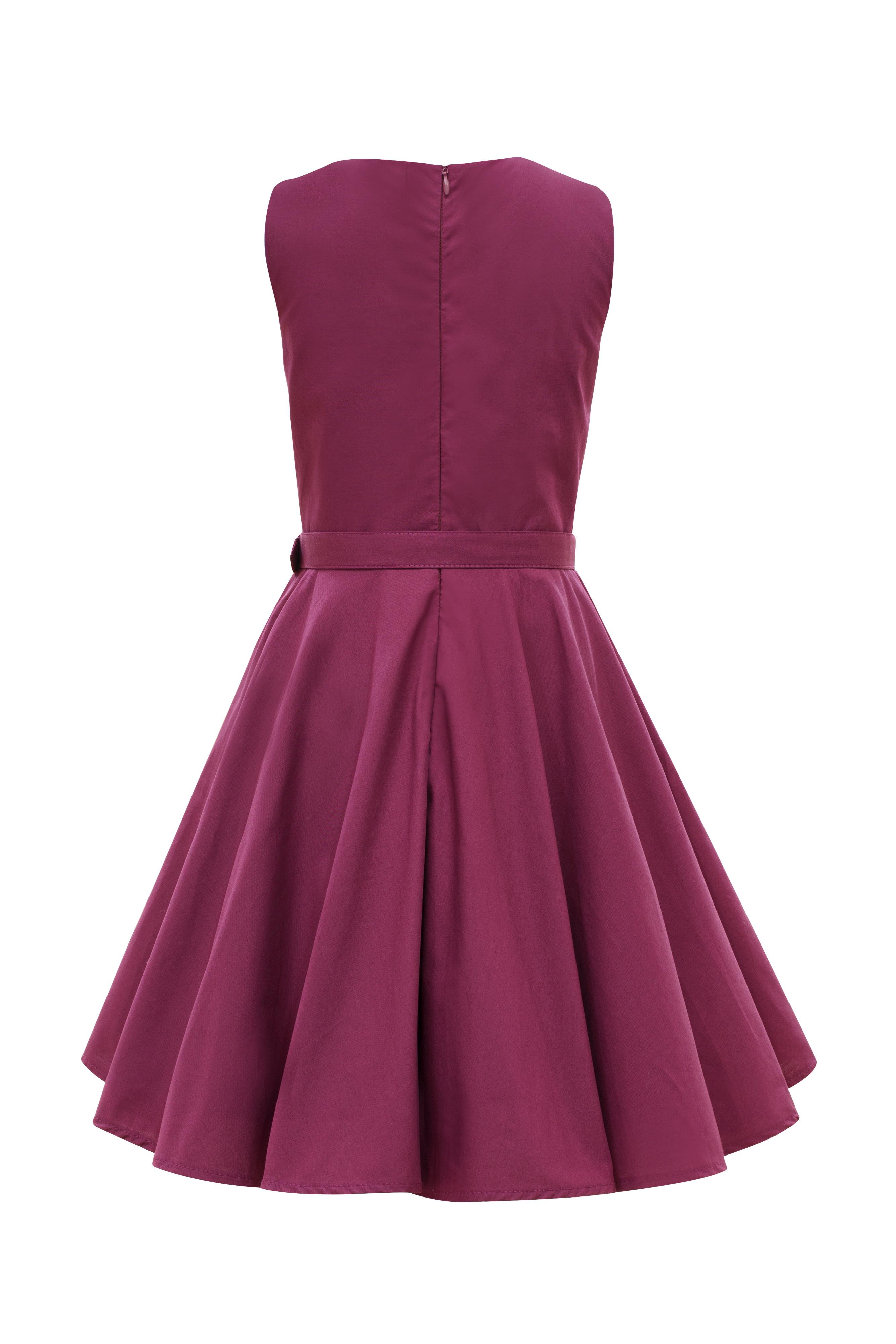 Kids \'Audrey\' Vintage Clarity 50\'s Party Girls Prom Dress | eBay