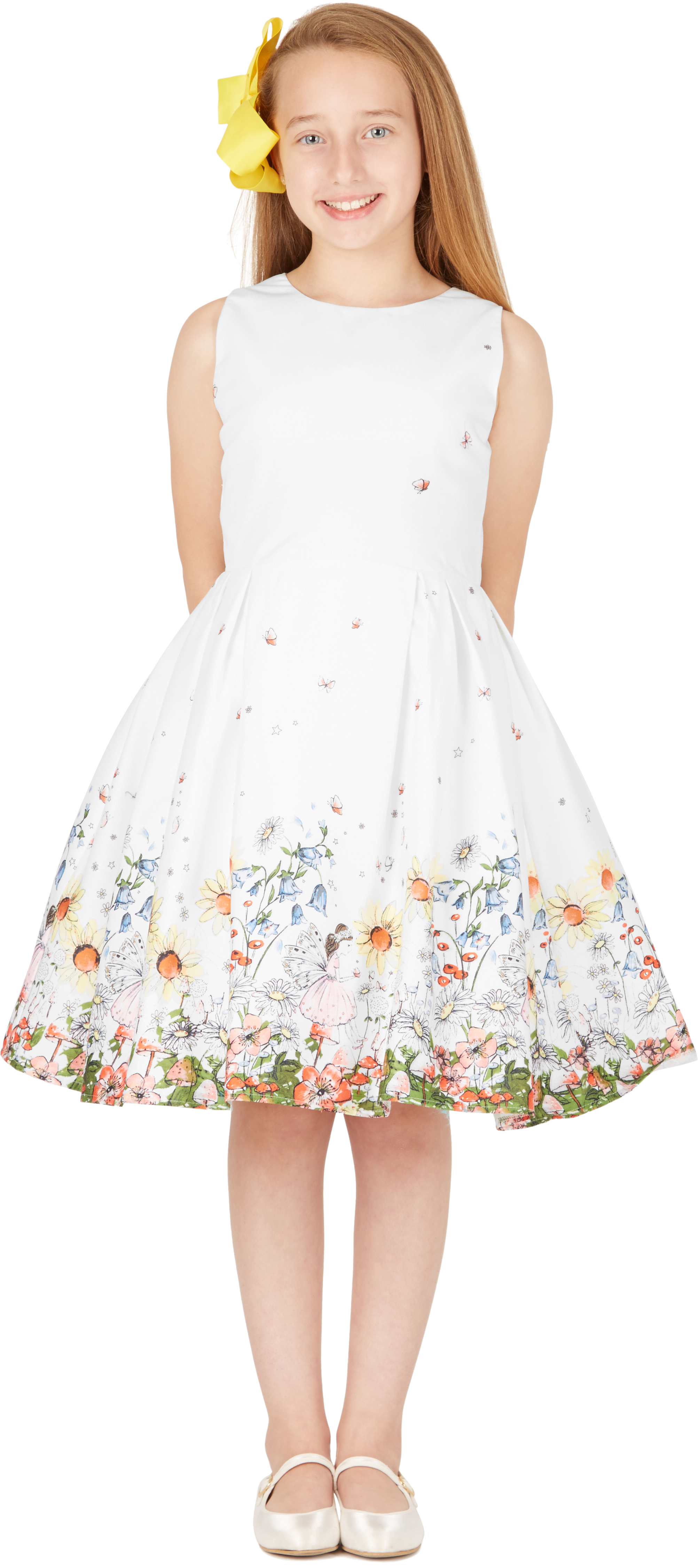 Kids \'Kira\' Vintage Flora 50\'s Party Girls Prom Dress   eBay