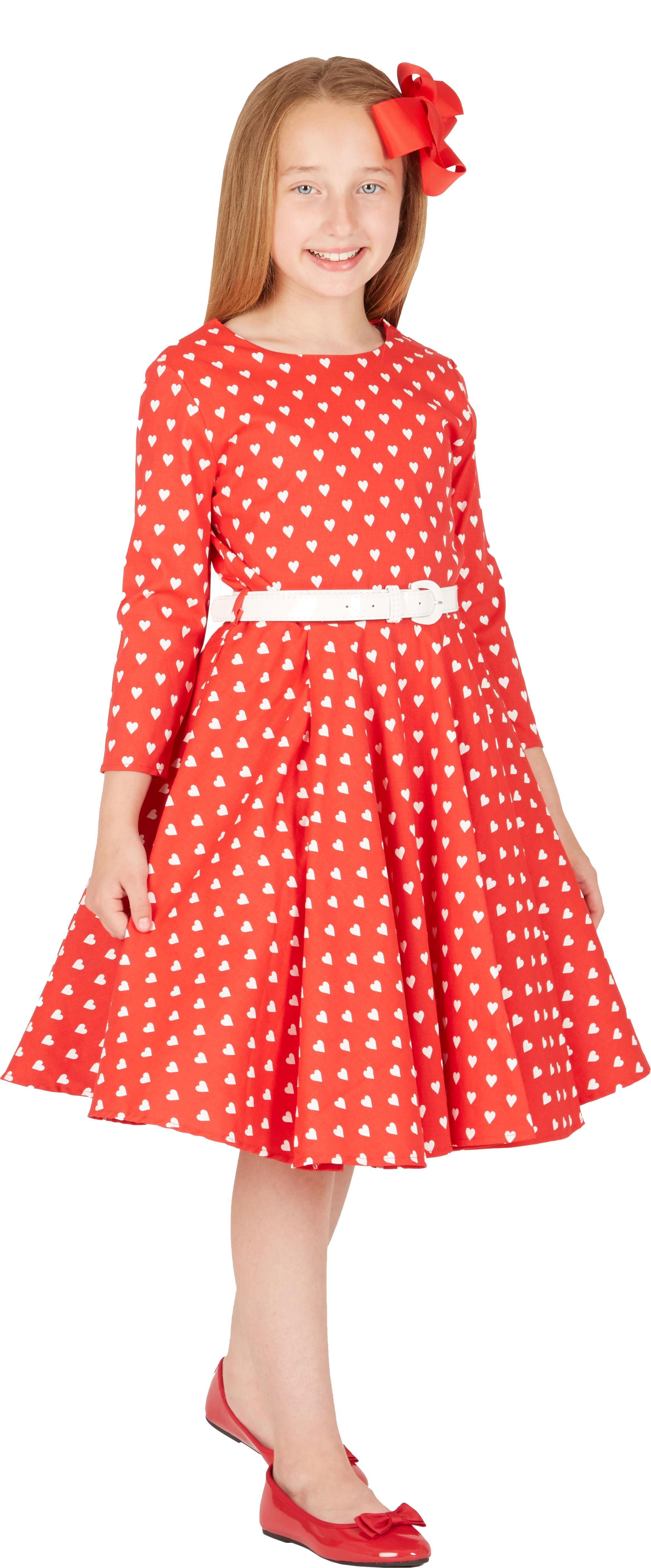 73a4235a355d4 BlackButterfly Enfants Robe Années 50 Vintage Sortie Soirée Les ...