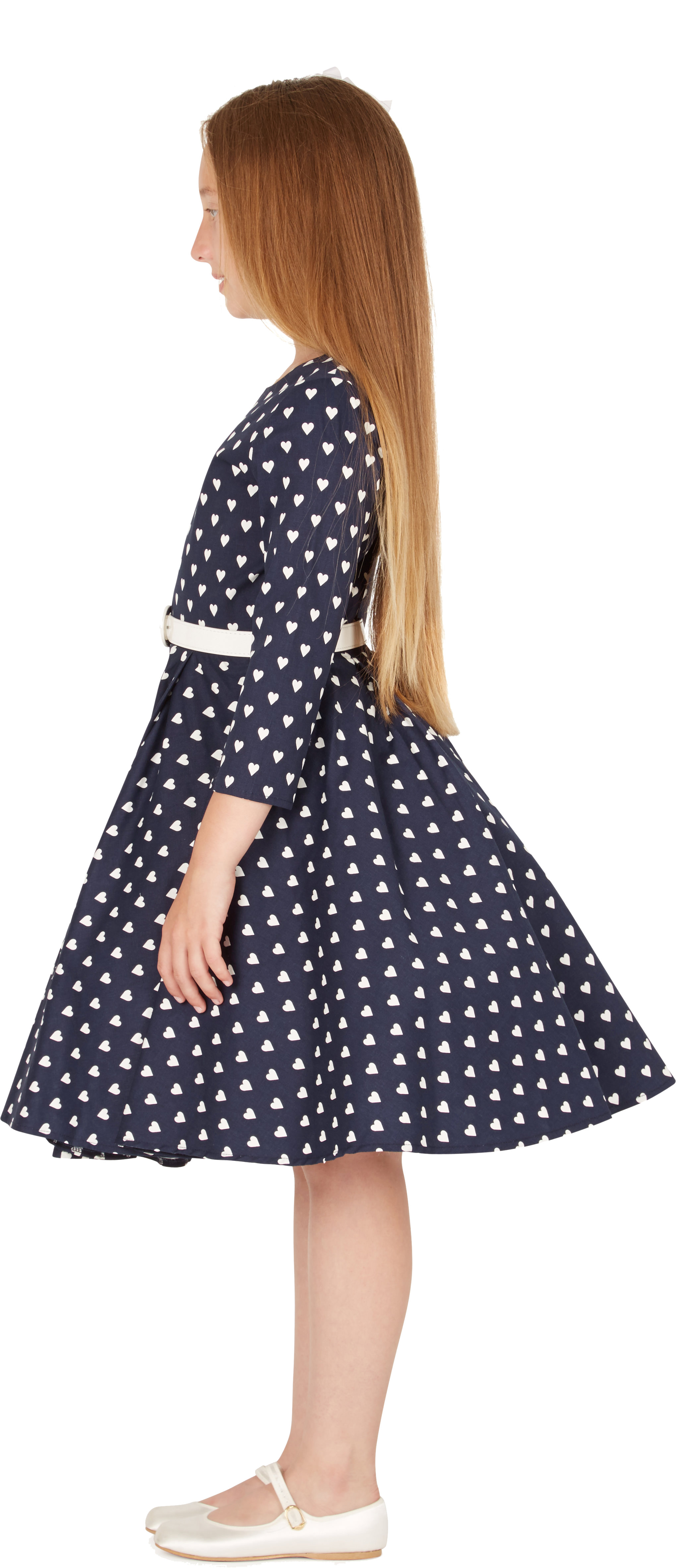 BlackButterfly Kinder \'Chloe\' Vintage Herzen Kleid im 50er-Jahre ...