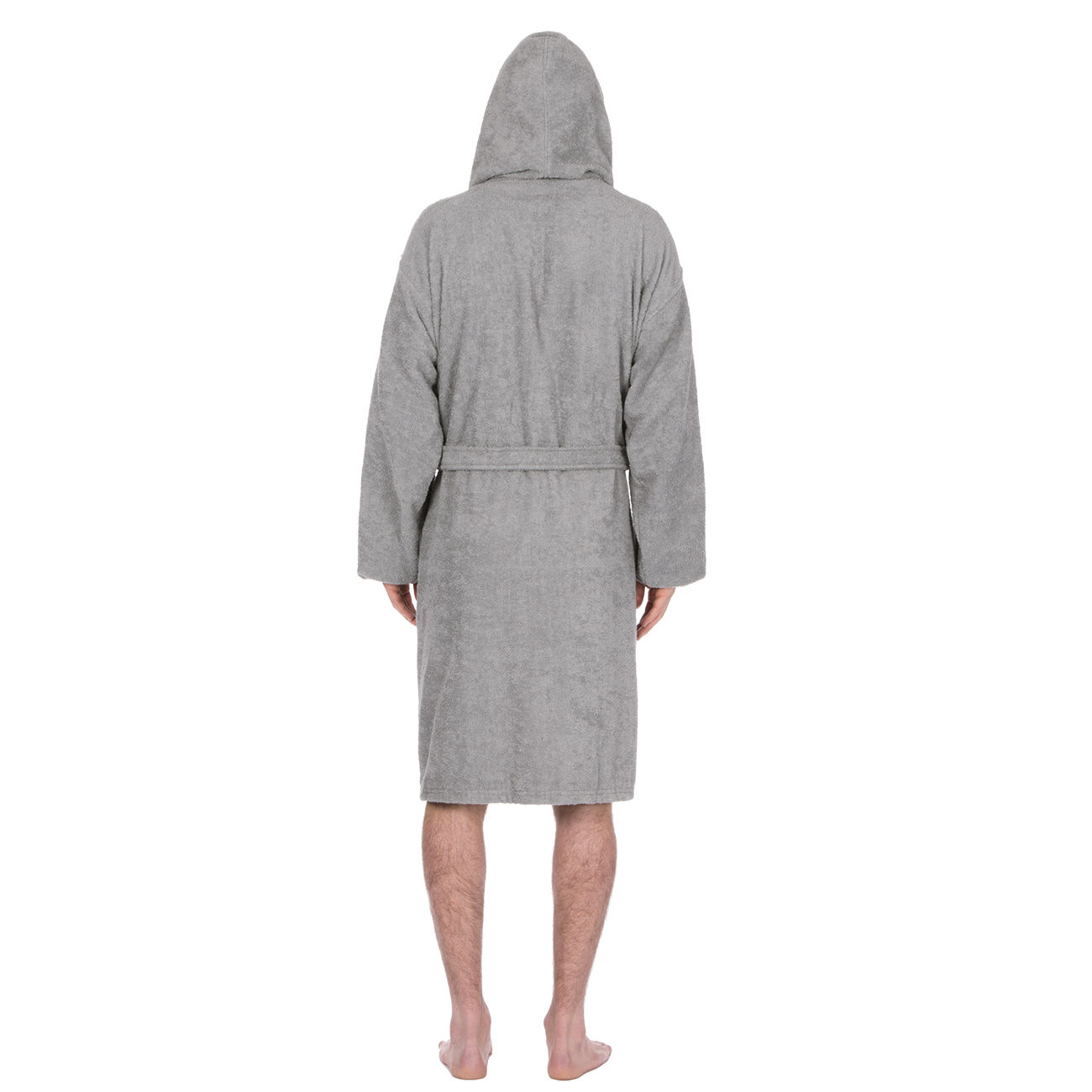 Mens Deluxe Luxury Cotton Soft Terry Cloth Bath Spa Robe