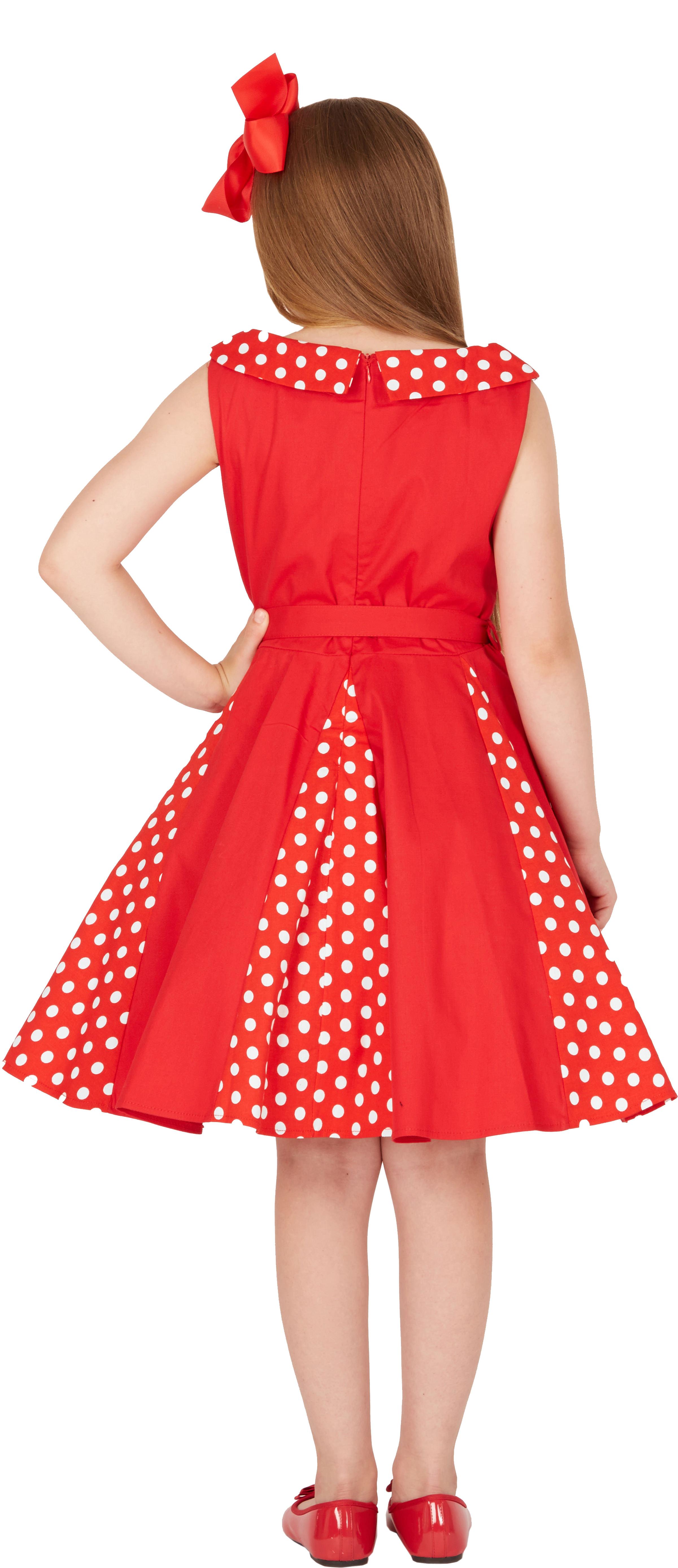 BlackButterfly Kids /'Alexia/' Vintage Polka Dot 50/'s Party Girls Prom Dress