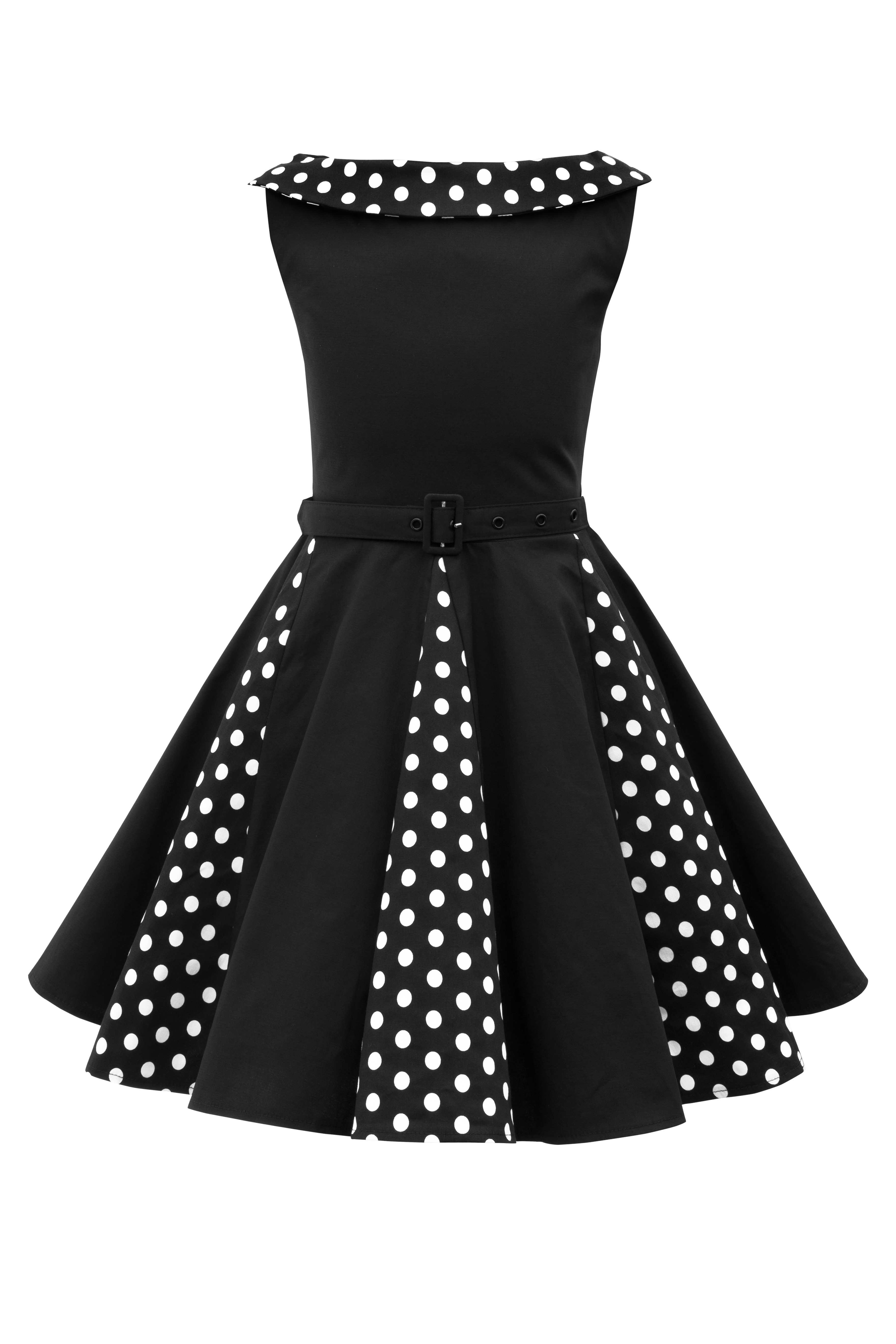 Beautiful Kids /'Alexia/' Vintage Polka Dot 50/'s Girls Party Prom Dress