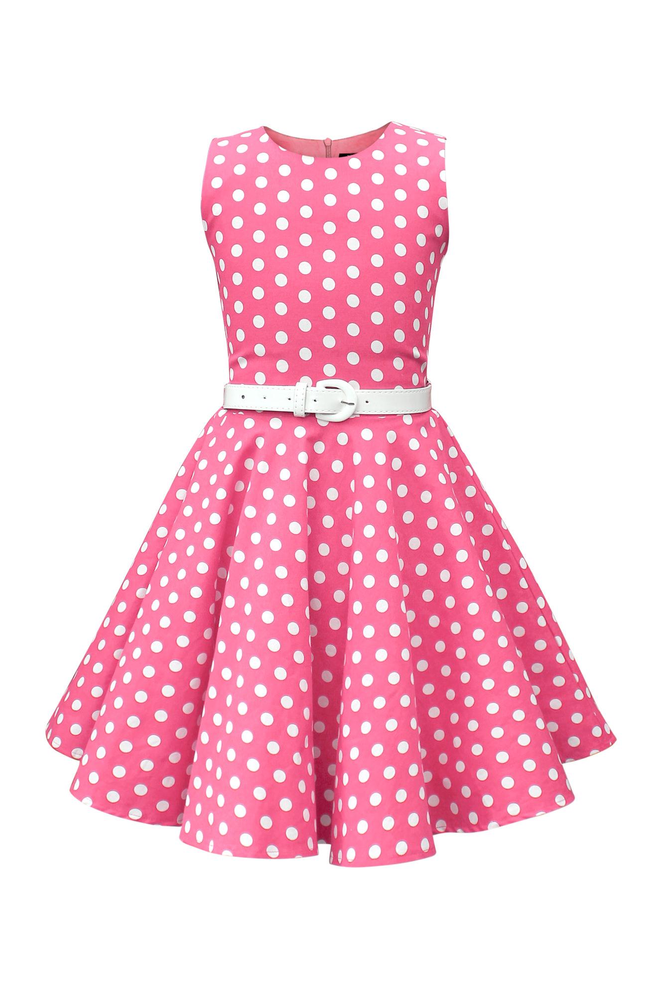 blackbutterfly kinder audrey vintage polka dots kleid im