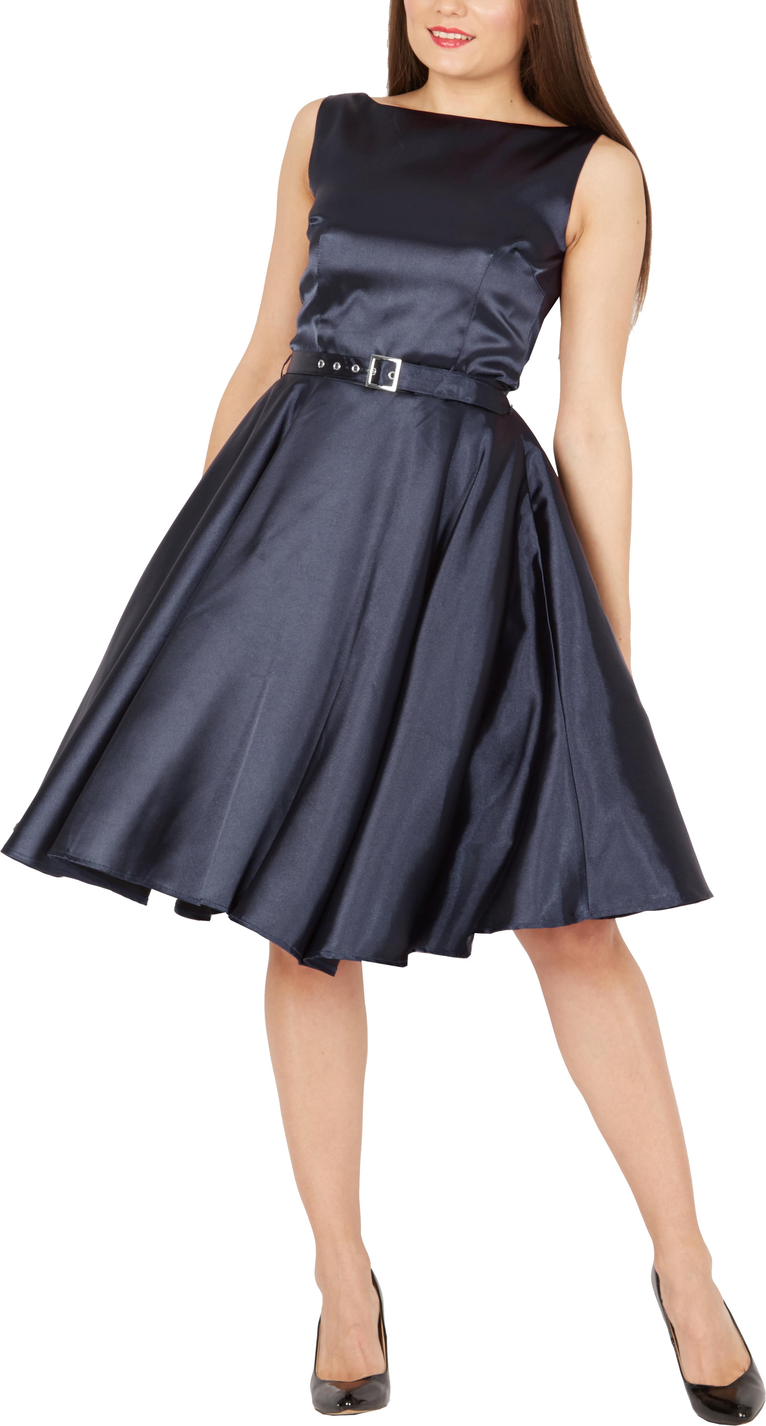 BlackButterfly-Audrey-Vintage-Satin-Clarity-Vintage-50-039-s-Rockabilly-Swing-Dress thumbnail 20
