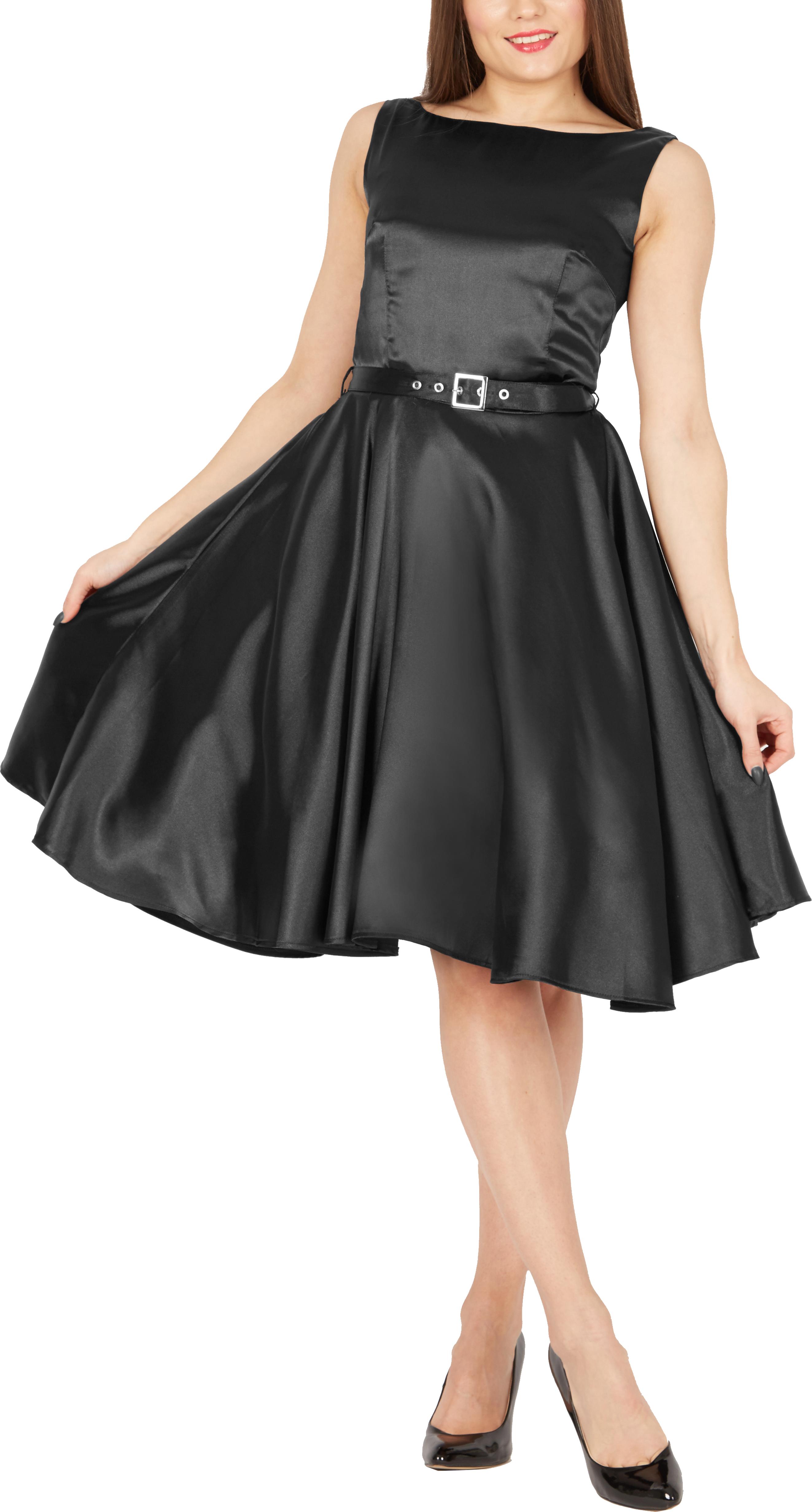 Vintage Satin Dress